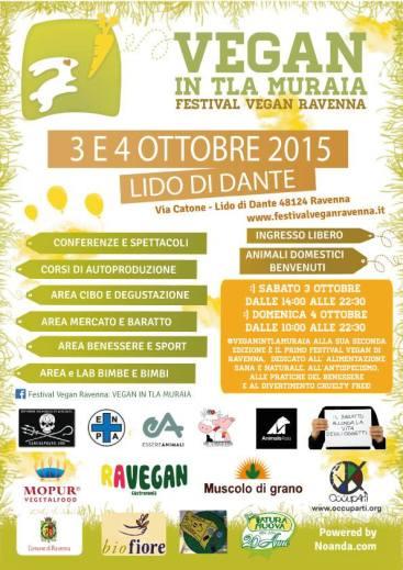 #VEGANINTLAMURAIA#locandina2015